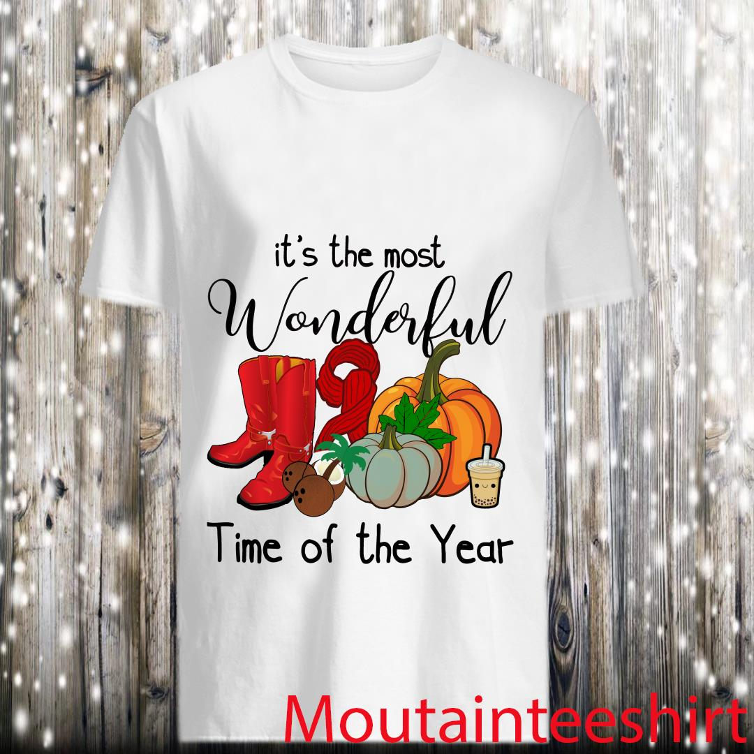 It's The Most Wonderful Time Of The Year Halloween Shirt