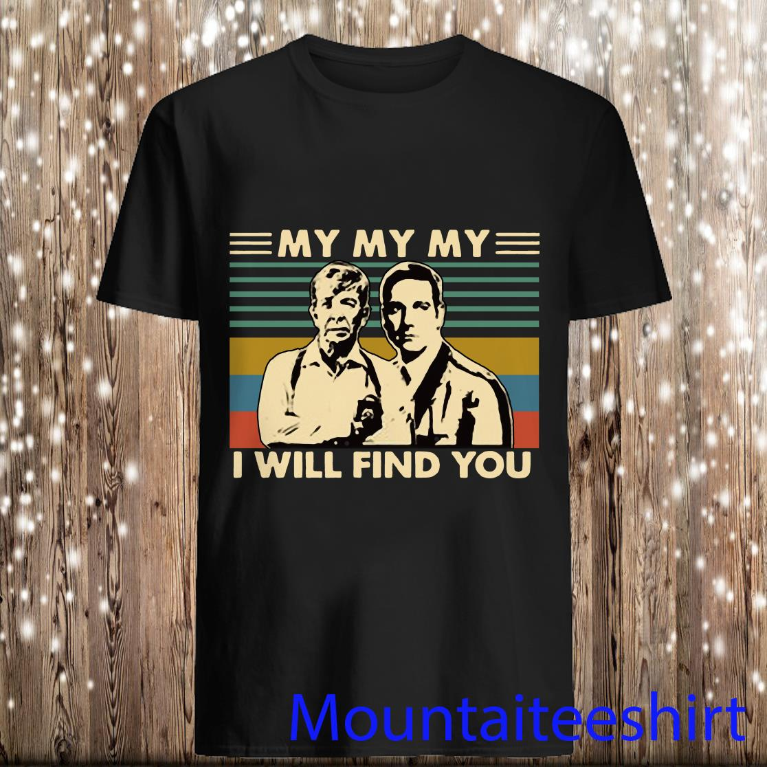 Joe Kenda and Carl Marino My My My I Will Find You Vintage Shirt