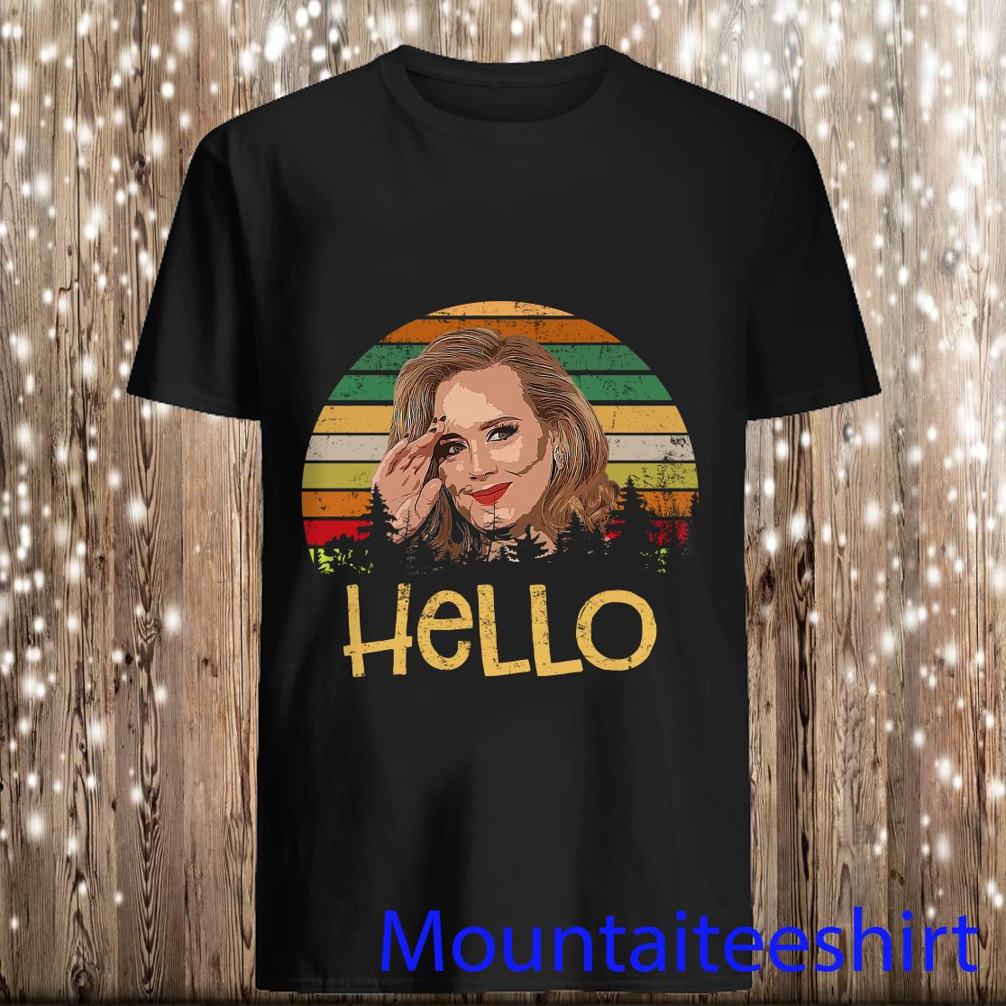 Lady Gaga Hello Vintage Shirt