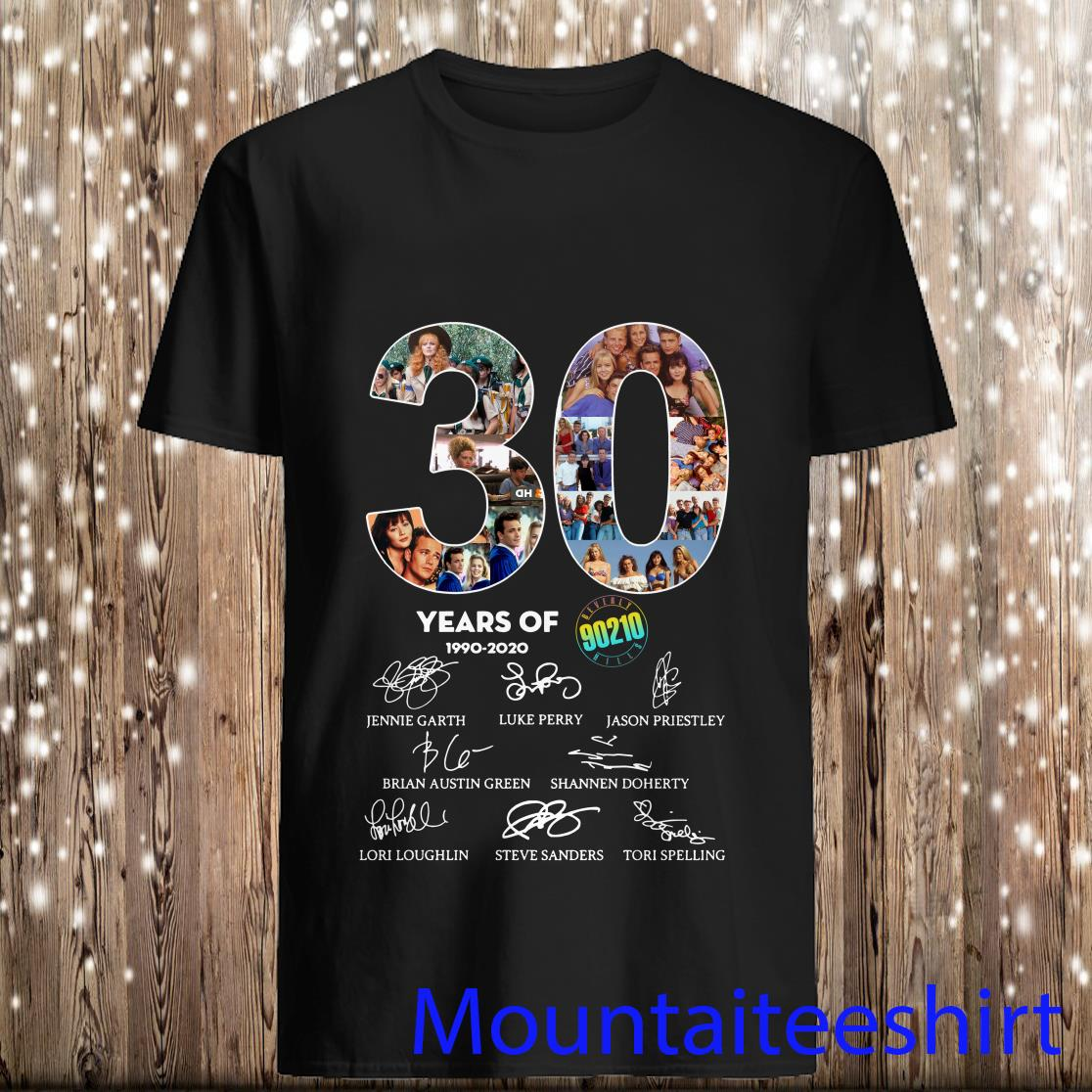 Peppa Store 30 Years of Beverly Hills 90210 1990 2020 Signature Shirt