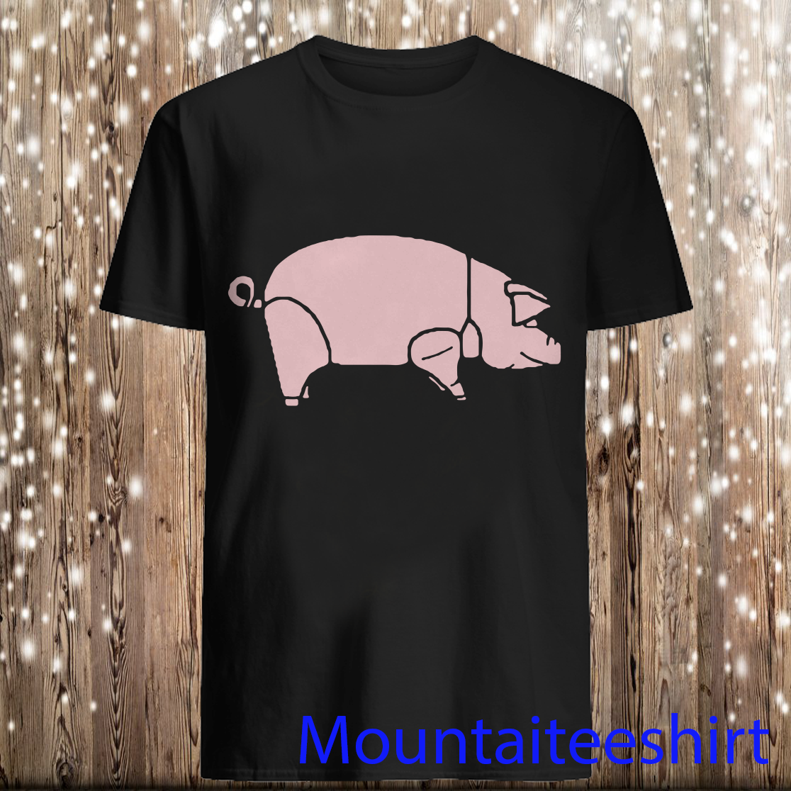 Pig As Worn By Dave Gilmour Pink Floyd Shirt