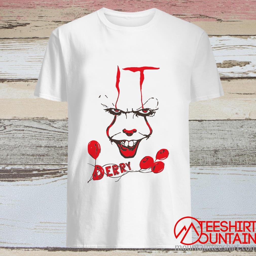 It Pennywise Derry Shirt