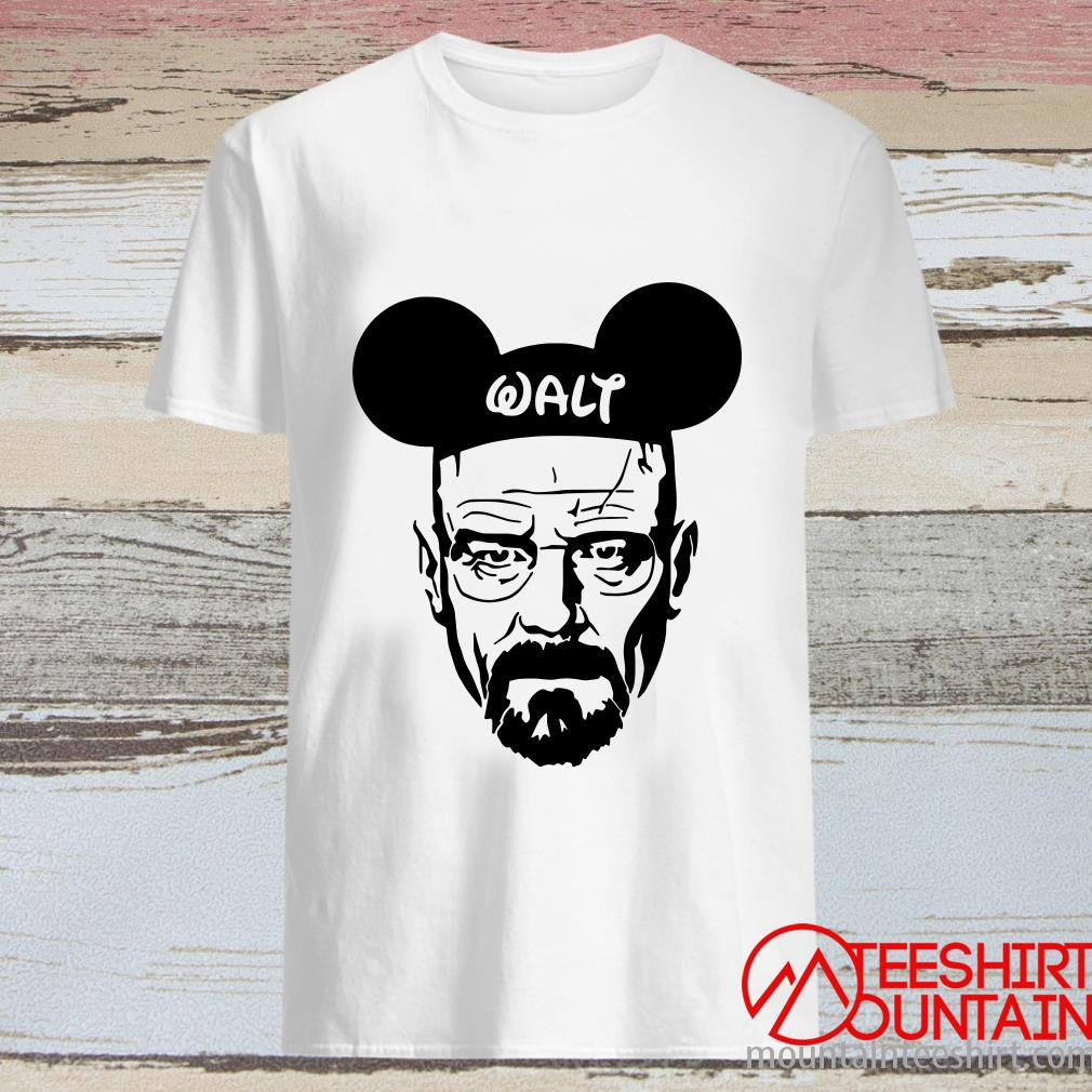 Breaking Bad Heisenberg Walt Disney ShirtBreaking Bad Heisenberg Walt Disney Shirt