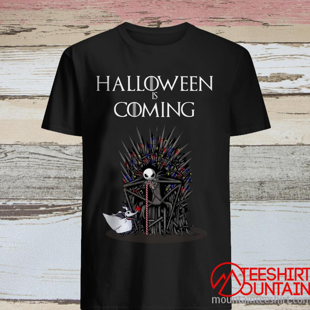 Halloween Jack Skellington and Zero Game of Thrones Nightmare Shirt