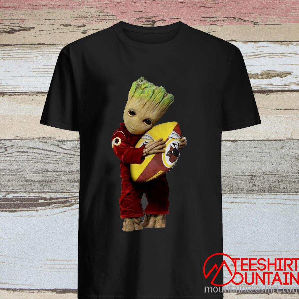 Baby Groot I Love Washington Redskins NFL Football Shirt