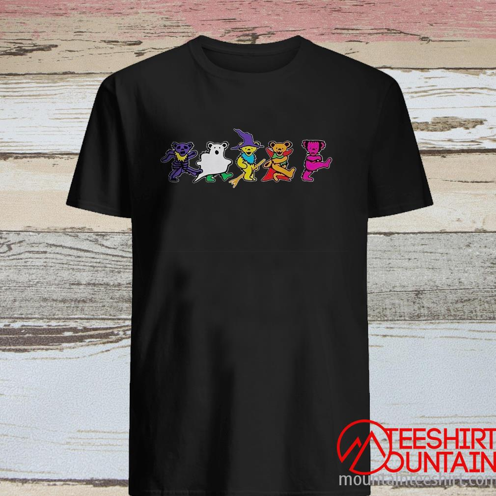 Grateful Dead Dancing Bears Halloween ShirtGrateful Dead Dancing Bears Halloween Shirt