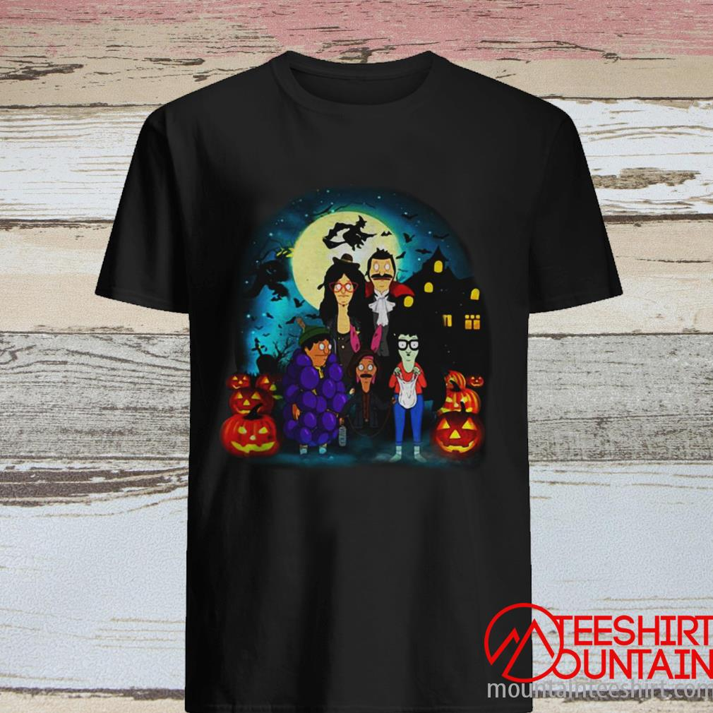 Halloween Bob's Burgers The Belcher Family ShirtHalloween Bob's Burgers The Belcher Family Shirt