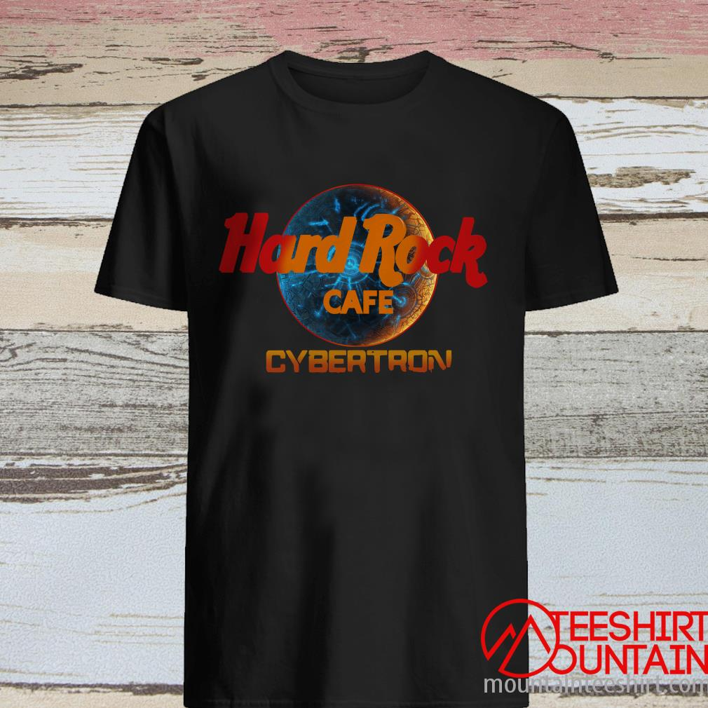 Hard Rock Cafe Cybertron Shirt