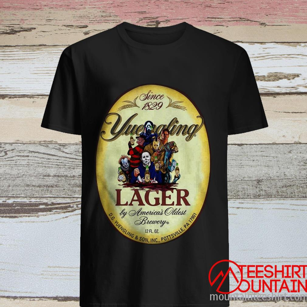 Beer Halloween since 1829 Yuengling lager by America's oldest brewery shirt