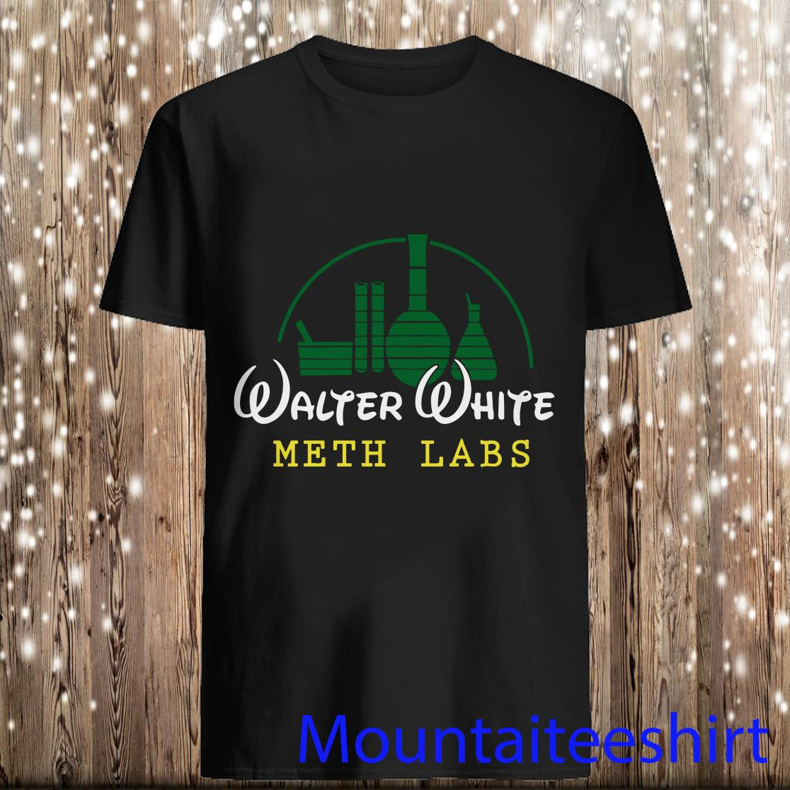 Disney Walter White Meth Labs Shirt