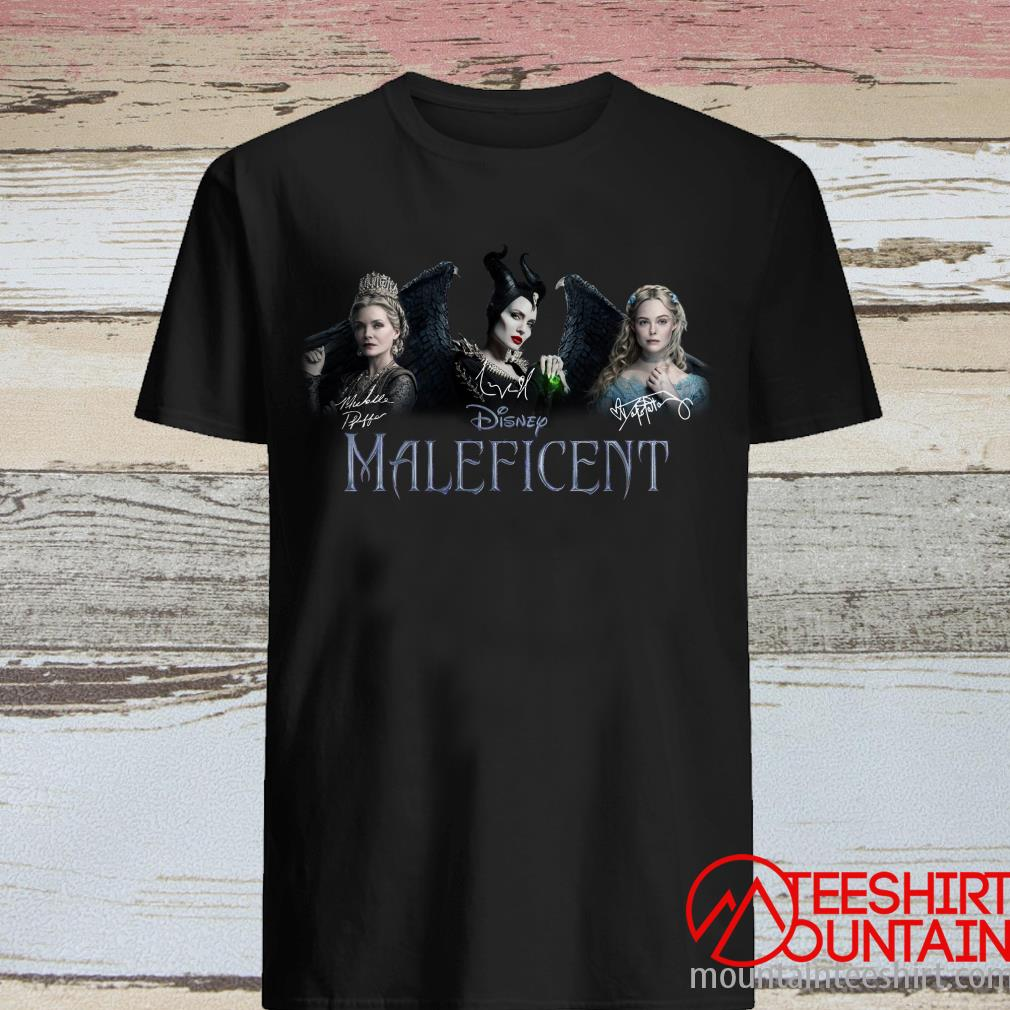 Disney Maleficent Signatures Shirt