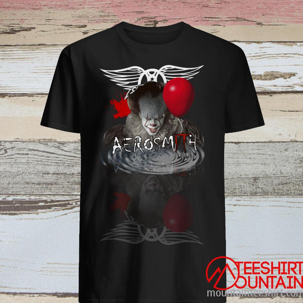 Pennywise Aerosmith Supernatural Water Shirt