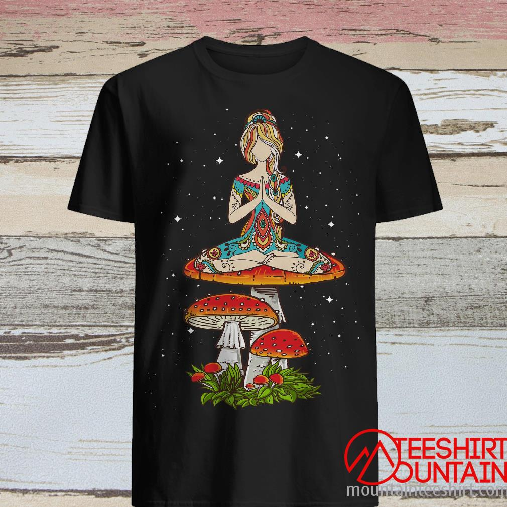 Women's Yoga Magic Mushroom Shirt