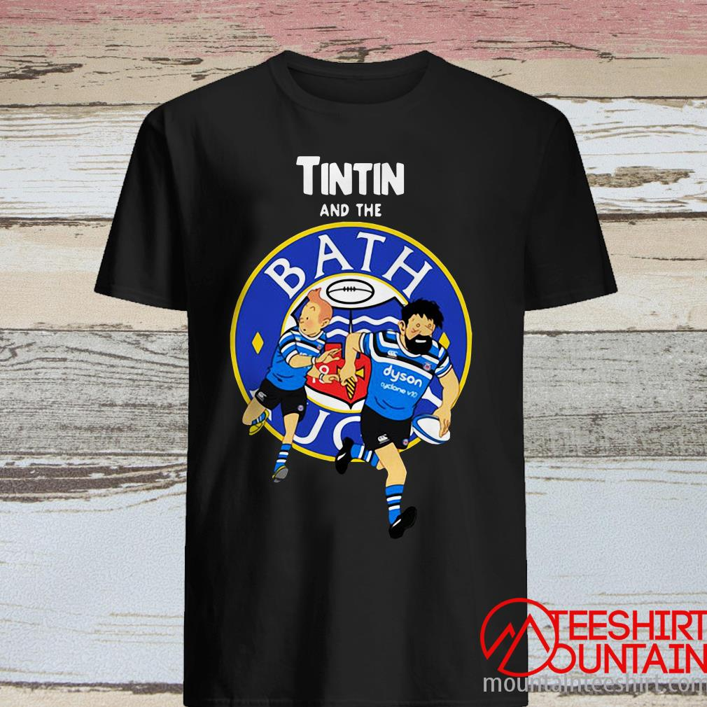 TinTin And The Bath Rugby Shirt