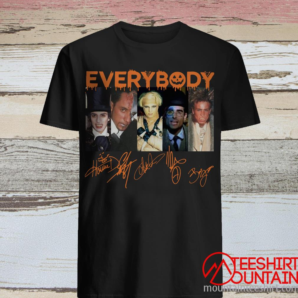 Everybody Signature Halloween ShirtEverybody Signature Halloween Shirt