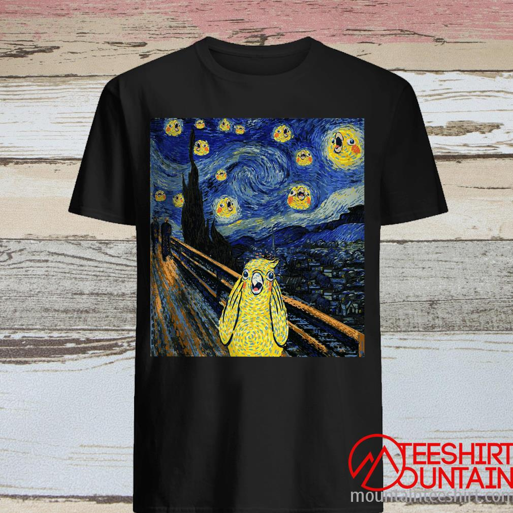 Cockatiel Starry Night Shirt