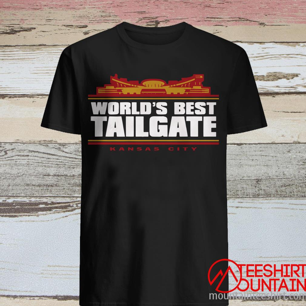 World's Best Tailgate Kansas City Shirt