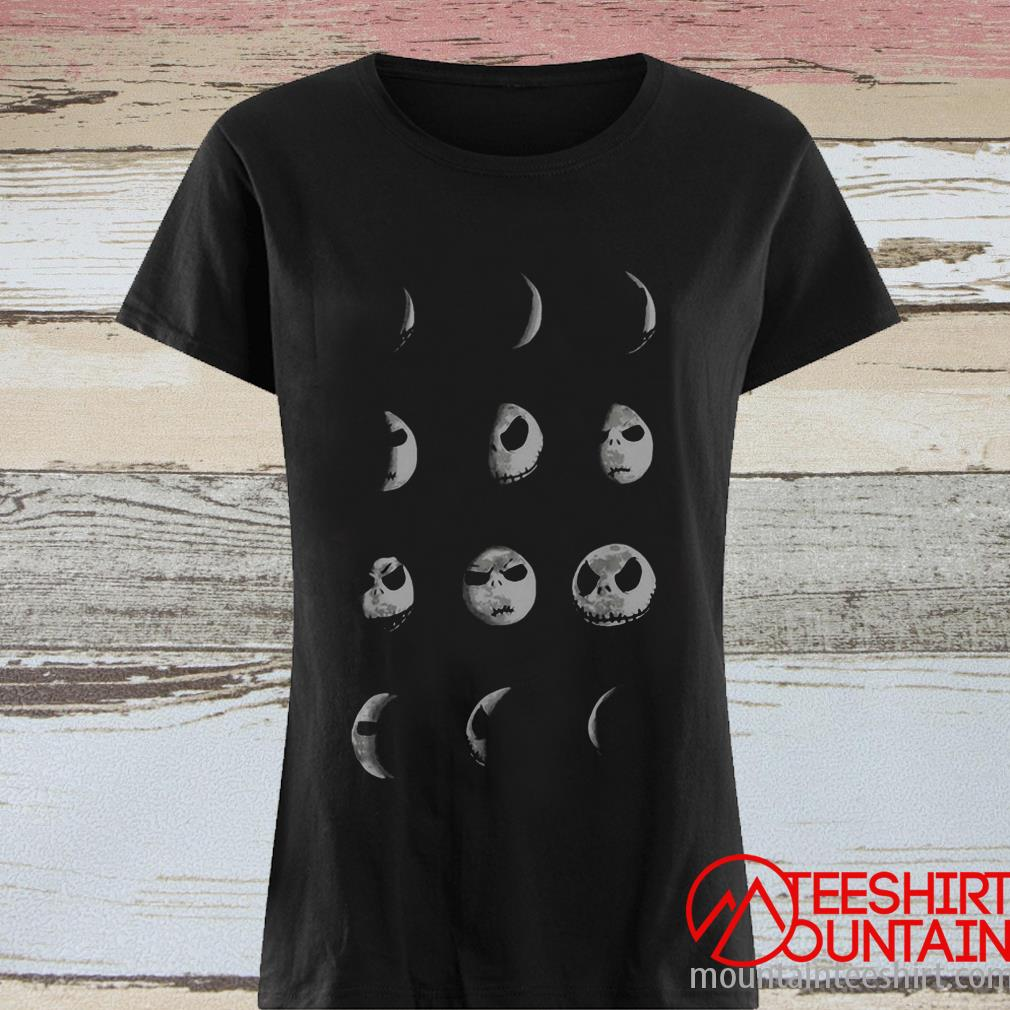 The Nightmare Before Christmas Jack Skellington Moon Shirt