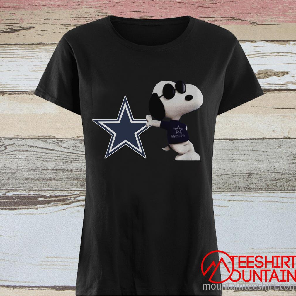 NFL Dallas Cowboys Snoopy Shirt