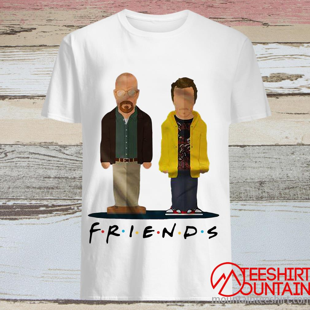Breaking Bad Friends Walter White And Jesse Pinkman Shirt