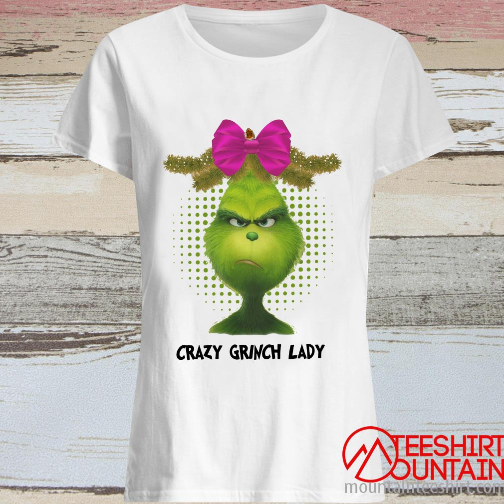 Crazy Grinch Lady Women's T-Shirt