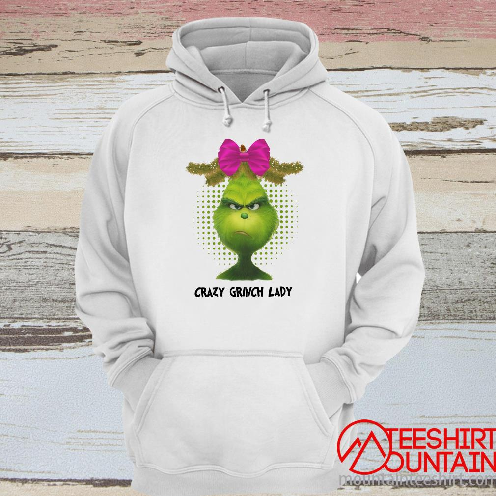 Crazy Grinch Lady Hoodie