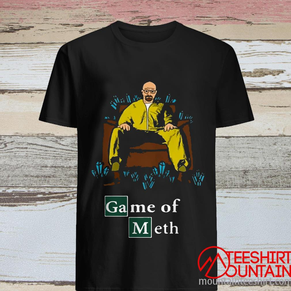 Walter White Game Of Meth Crystal Throne Shirt