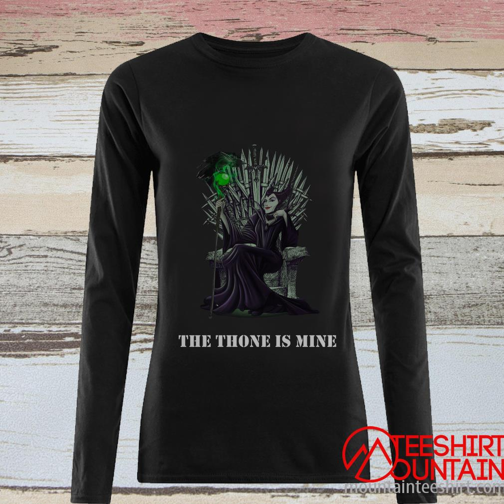 Official Maleficent The Throne Is Mine Shirt By Shirt