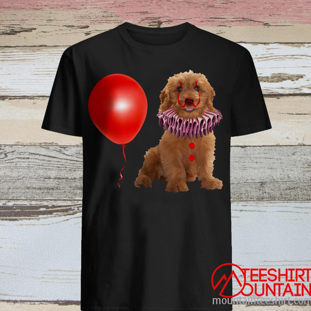 Halloween Goldendoodle It Shirt