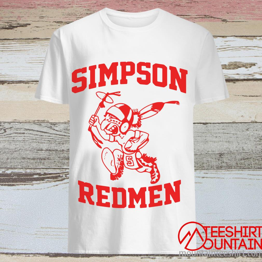 Official Simpson Redmen Shirt