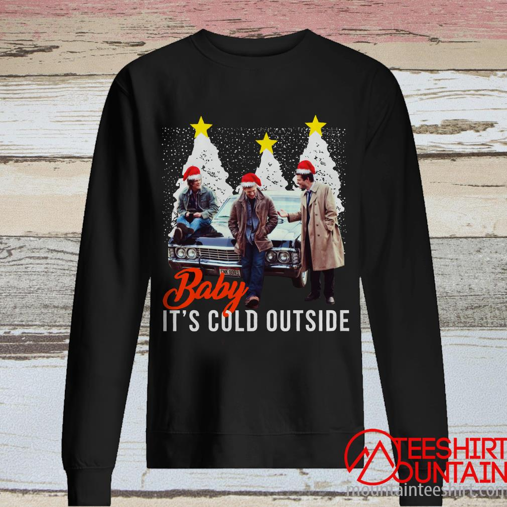Supernatural Baby It's Cold Outside Christmas Sweatshirt