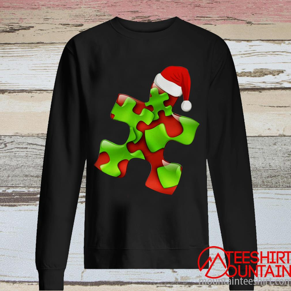 Autism Santa Christmas Sweater