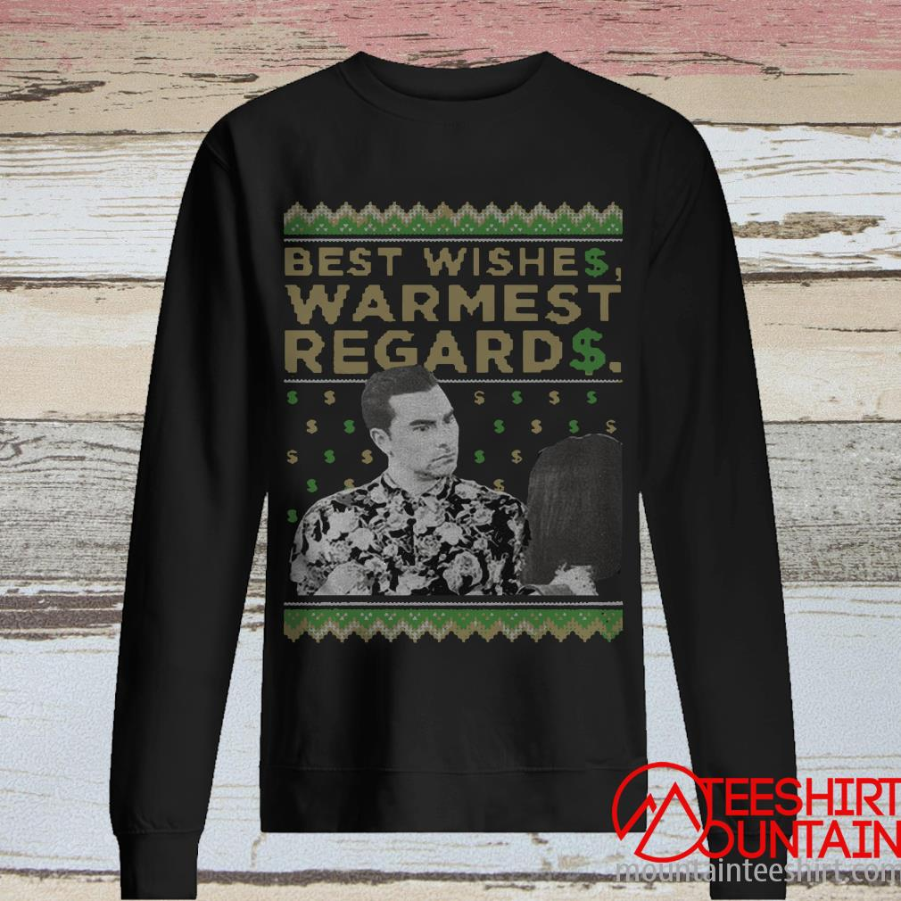 Best Wishes Warmest Regards Ugly Christmas Sweater