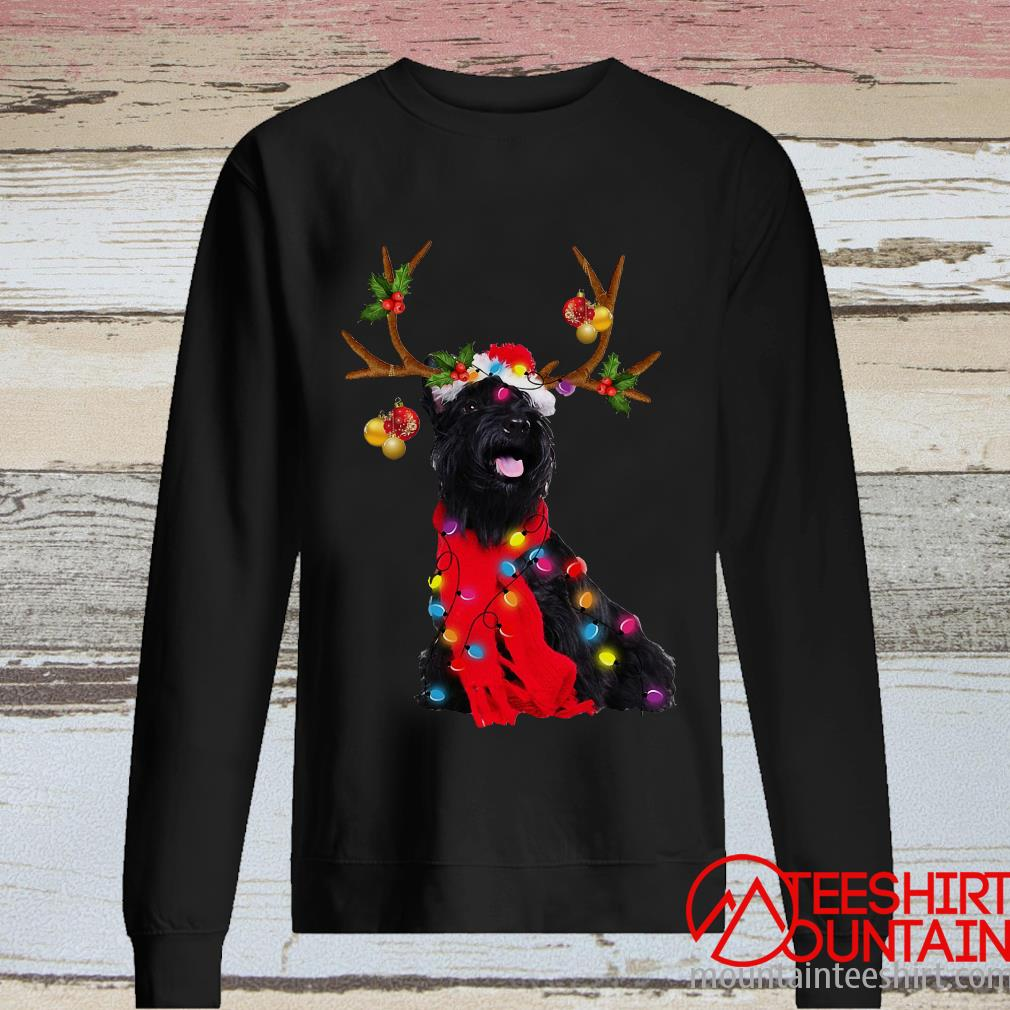 Scottish Terrier Gorgeous Reindeer Crewneck Sweater