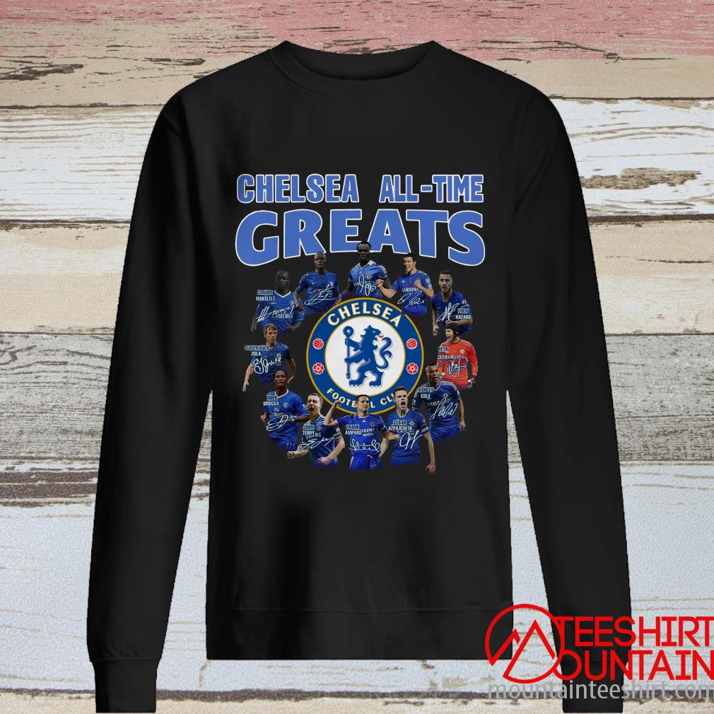 Chelsea All Time Greats Player Signature T-Shirt