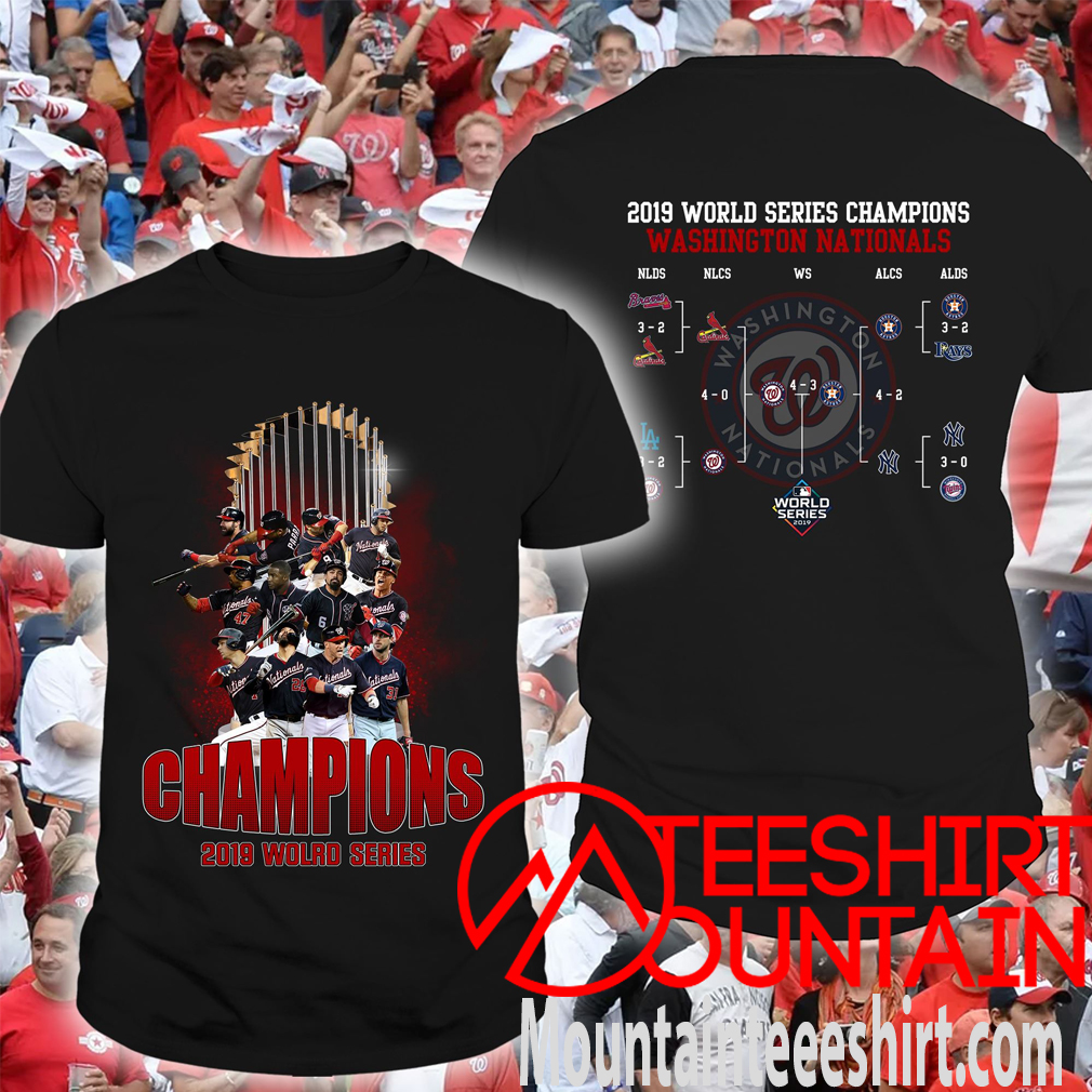 Nationals League 2019 World Series Champions Washington Nationals Shirt