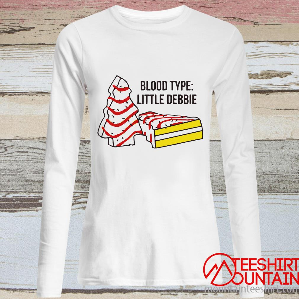 Blood Type Little Debbie Shirt