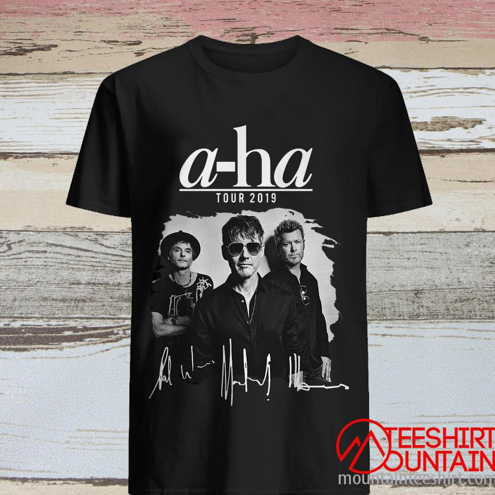 A-ha Tour 2019 Signatures T-Shirt