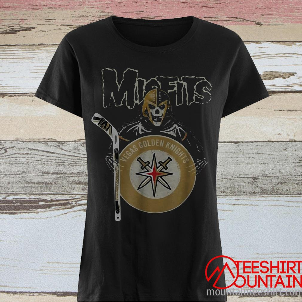Misfits Las Vegas Golden Knights Shirt