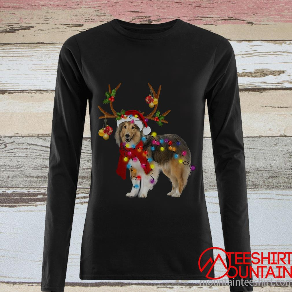 Sheltie Gorgeous Reindeer Crewneck Sweater