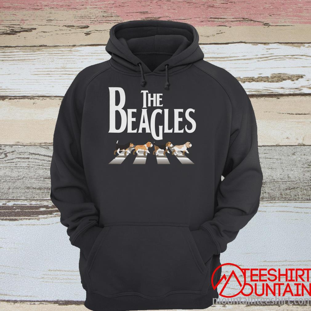 Abbey Road The Beagles Dog T-Shirt