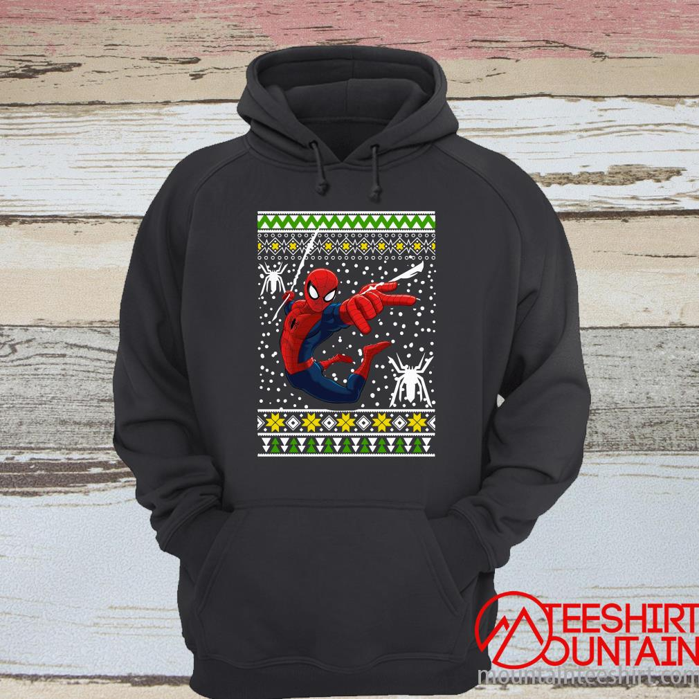 Amazing Spiderman Ugly Christmas Sweater
