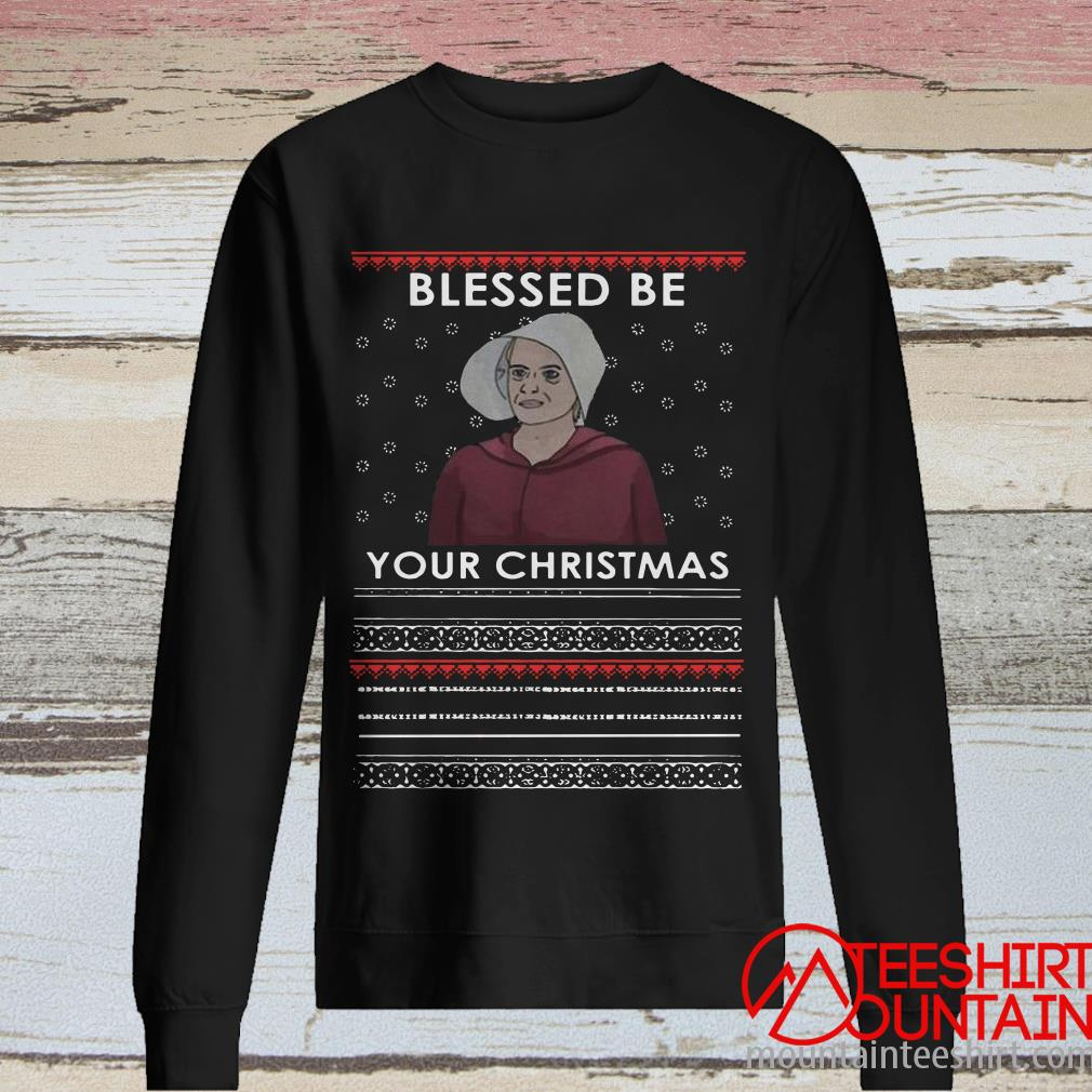 The Handmaid's Tale Blessed Be Your Christmas Sweater