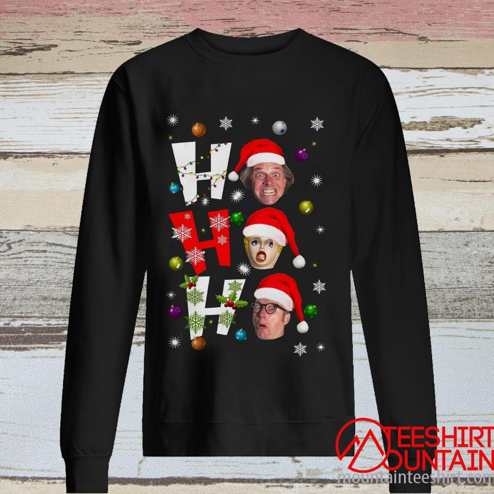 Richie and Eddie Ho Ho Ho Christmas Sweatshirt
