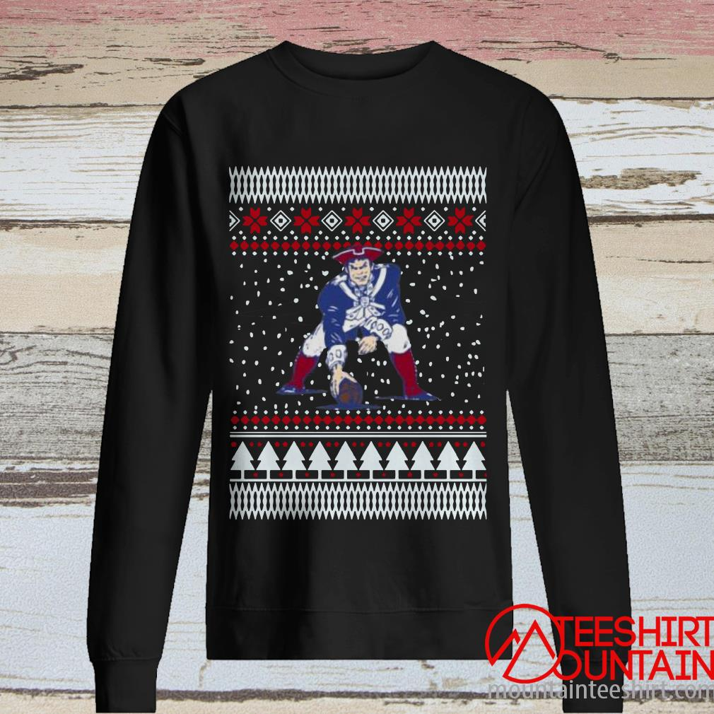 England Pat Patriots Ugly Christmas Sweater