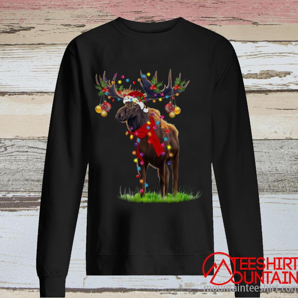 Moose Gorgeous Reindeer Crewneck Sweatshirt