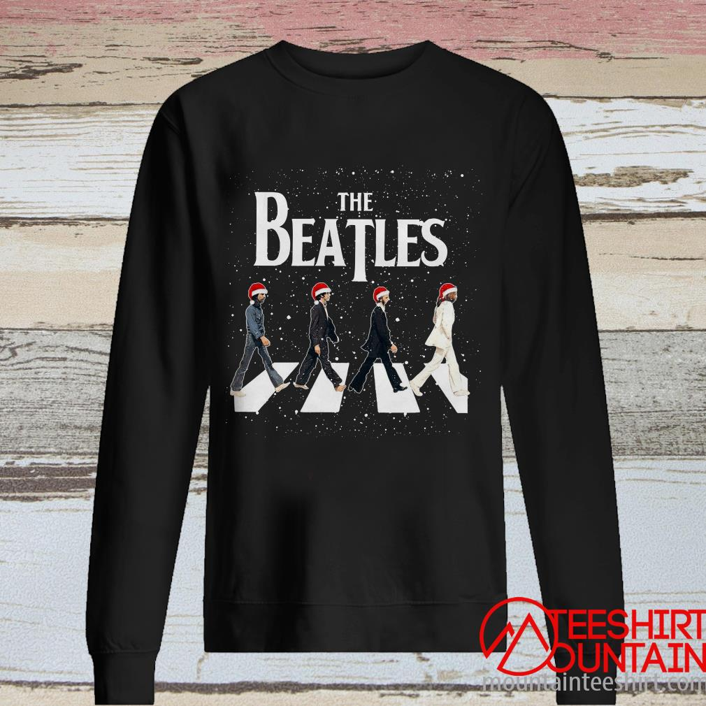 The Beatles Abbey Road Christmas Sweater