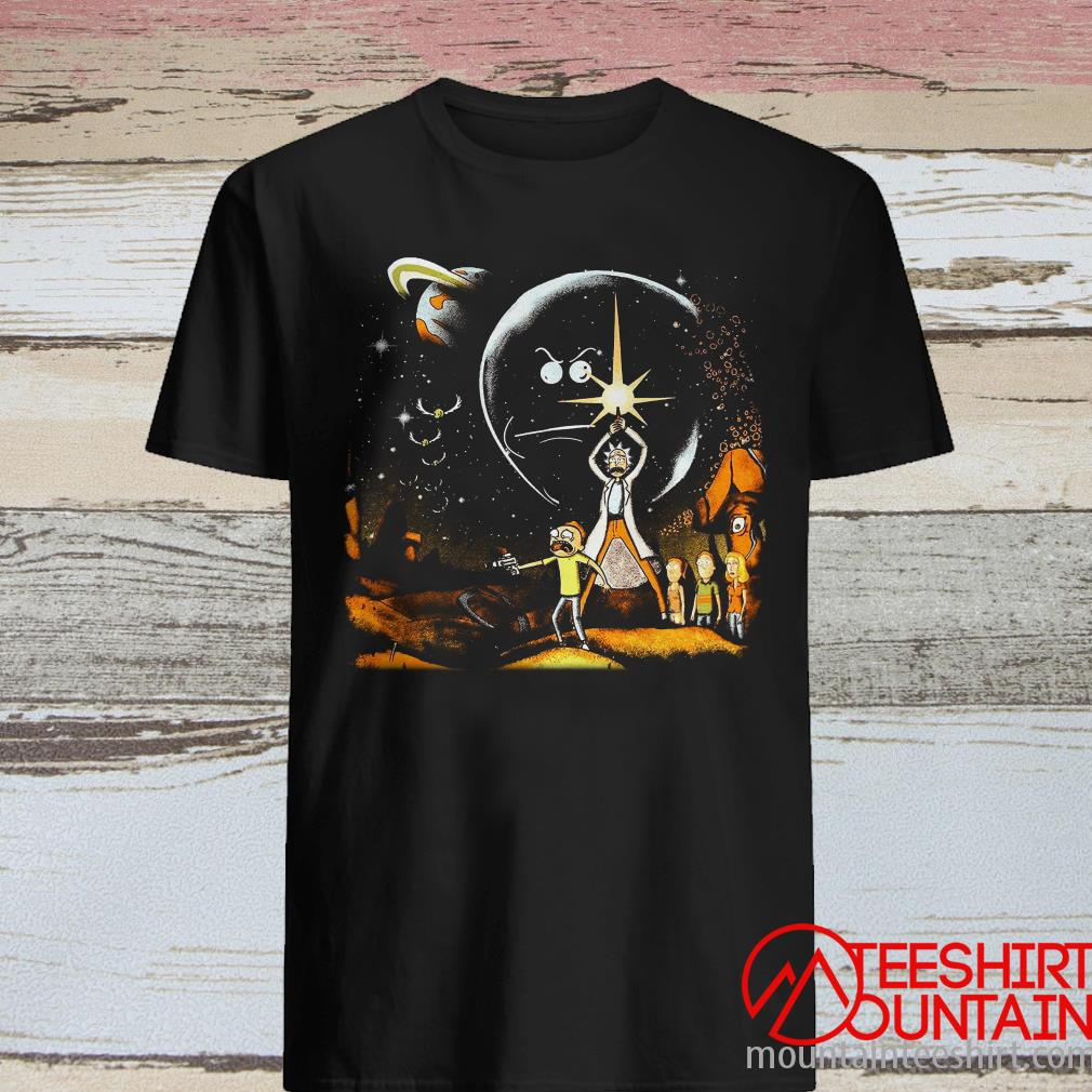 Rick And Morty Star Wars Combo T-Shirt
