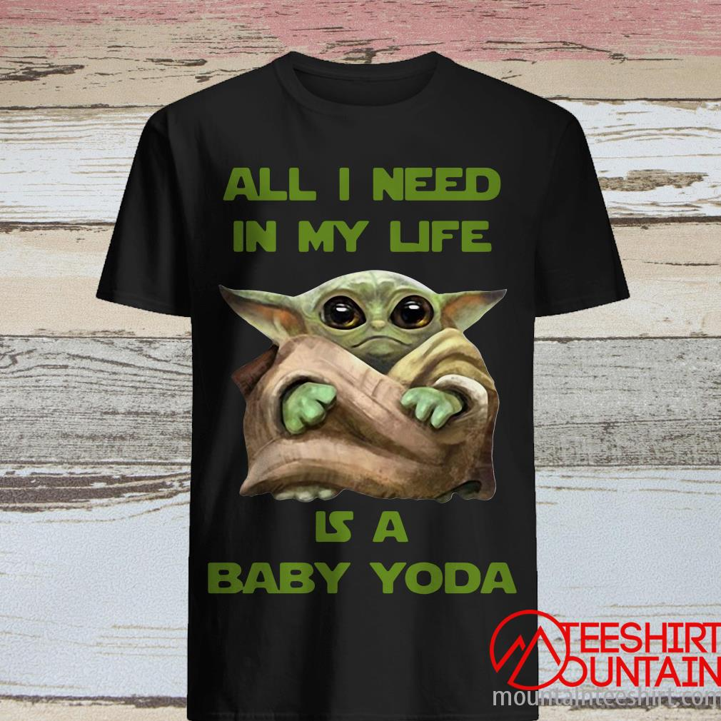 All I Need In My Life Is A Baby Yoda T-Shirt
