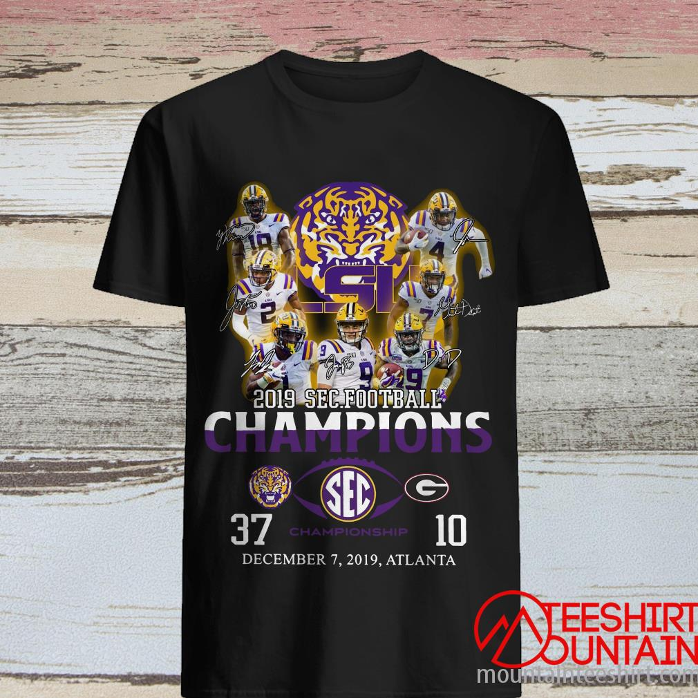 LSU Tigers 2019 SEC Football Champions T-Shirt